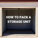 how to pack storage unit